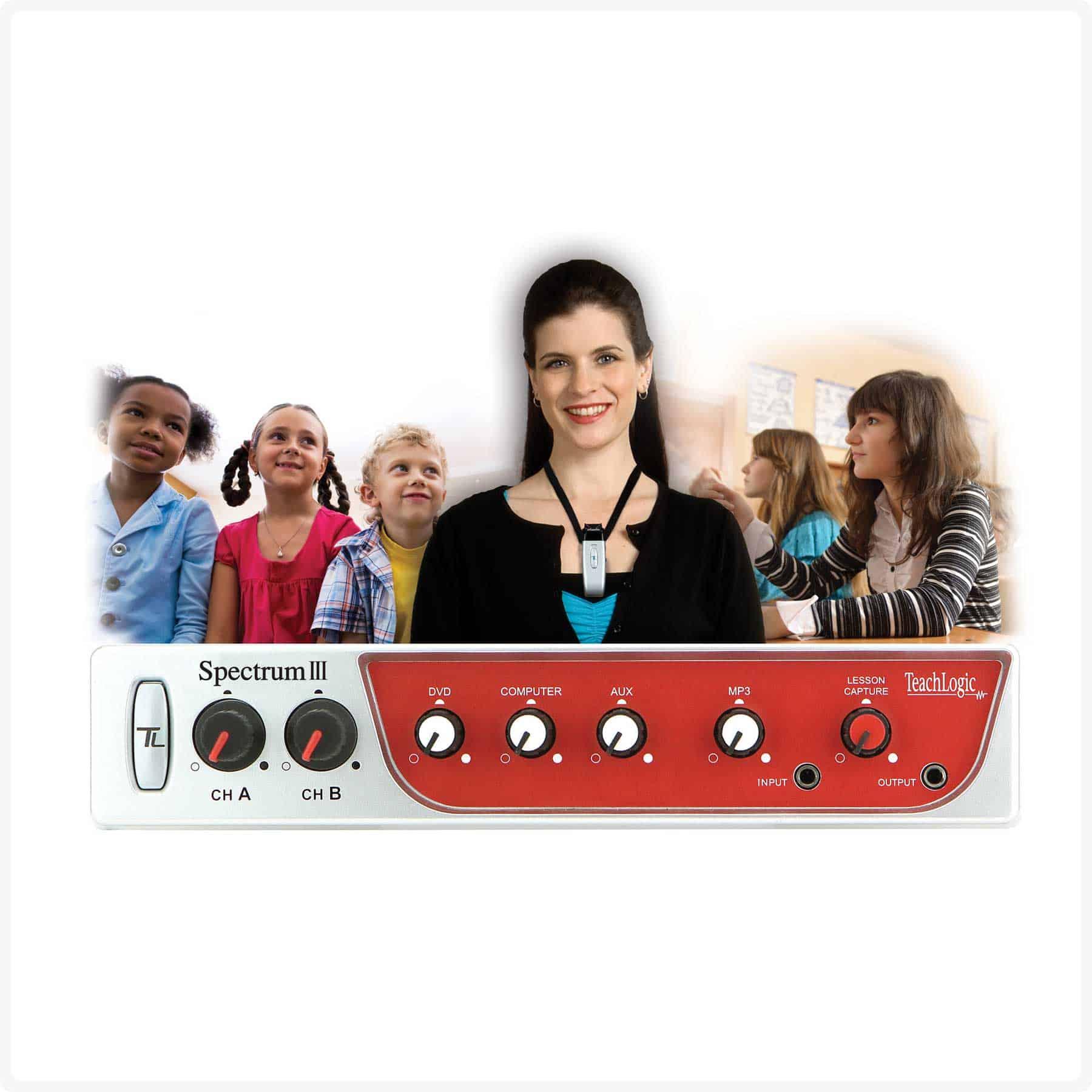 Spectrum Iii Teachlogic Classroom Microphone System Circuit Home Audio Systems