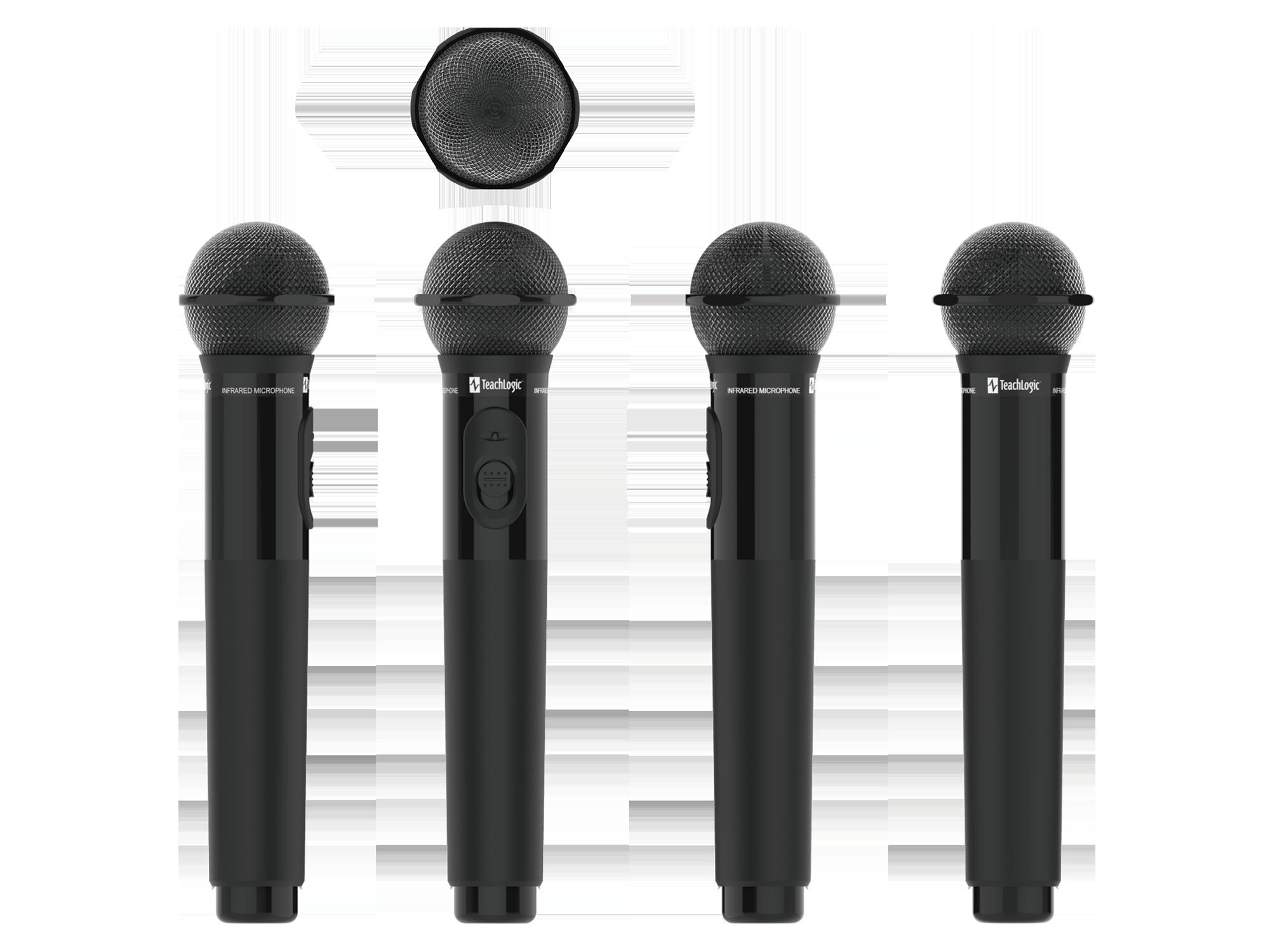 Handheld Microphone IRH35N Elevations