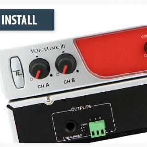 VoiceLink III Sound System