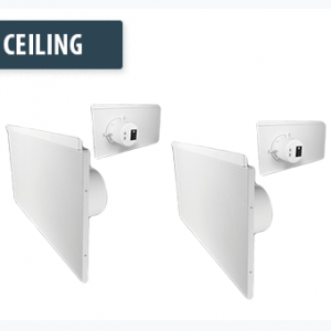 Lay-In Ceiling Speakers
