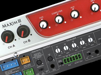 Maxim III IMA 520 default