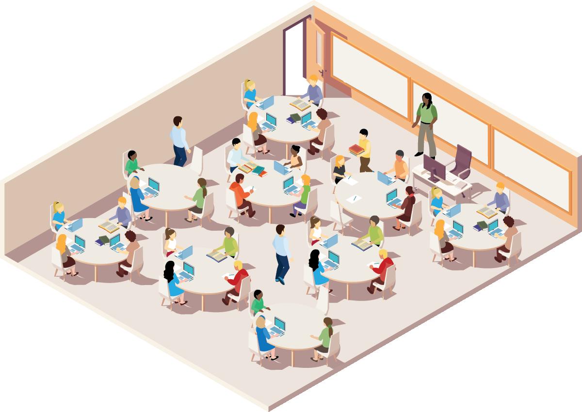 large classroom color thumbnail